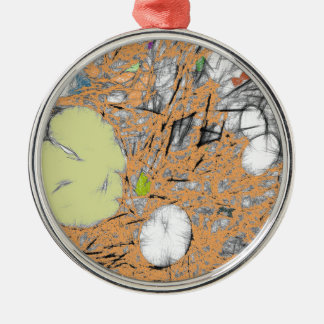 Lily Pads (Peach) Christmas Ornament