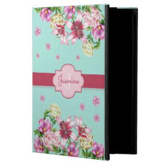 Lily & Peony Floral Aqua Powis iPad Air 2 Case