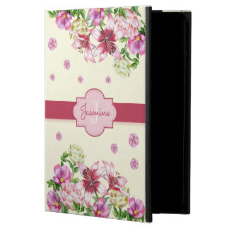 Lily & Peony Floral Yellow Powis iPad Air 2 Case