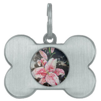 LIly Pet Name Tag