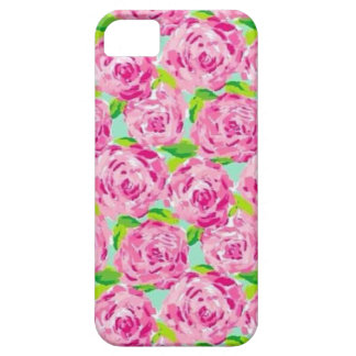 Lily Pink Flowers iPhone 5 Cover