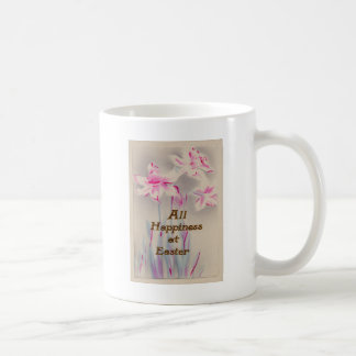 Lily Pink Purple Easter Mugs