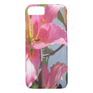 Lily Plant Outdoor Pink iPhone 7 Case
