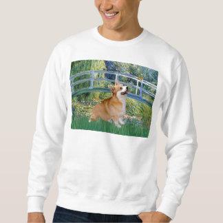 Lily Pond Bridge - Pembroke Welsh Corgi Sweatshirt