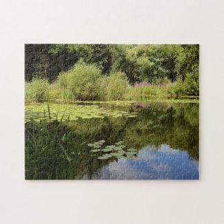 Lily pond jigsaw puzzle