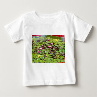 Lily pond times four baby T-Shirt