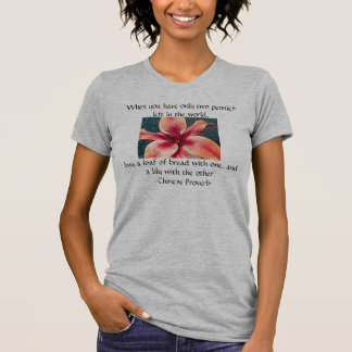 Lily Proverb Tee
