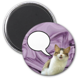 Lily Speech Bubble Magnet 01