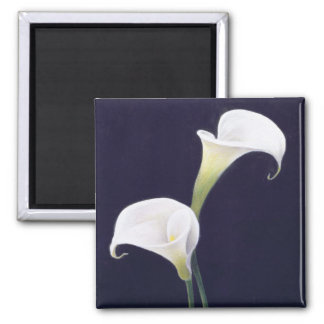 Lily Square Magnet