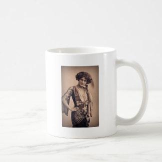 Lily Vintage Movie Star Basic White Mug