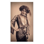 Lily Vintage Movie Star Pack Of Standard Business Cards