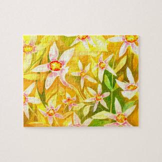 Lily Watercolour Jigsaw Jigsaw Puzzle