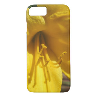 Lily Yellow Weathered Fence iPhone 7 Case
