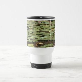 Lilypads Impressionism art Travel Mug