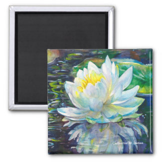 """Lilypond Reflections"" Magnet"
