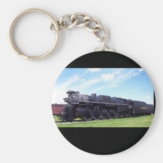 Lima-Baldwin Locomotive Nickel Plate Railroad #757 Key Ring
