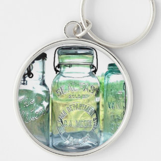 Lima Ohio Fruit Jar Antiques Vintage Mason Jars Key Ring