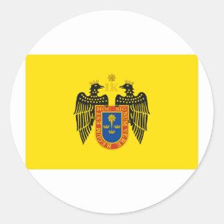 Lima, Peru Classic Round Sticker