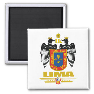 Lima Square Magnet