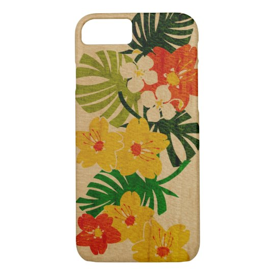 Limahuli Garden Hawaiian Faux Wood iPhone 8/7 Case