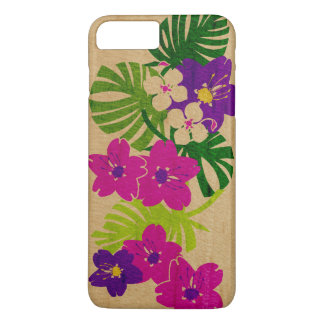Limahuli Garden Hawaiian Faux Wood iPhone 8 Plus/7 Plus Case