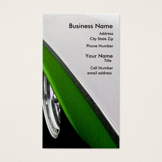 Limalicious Business Card