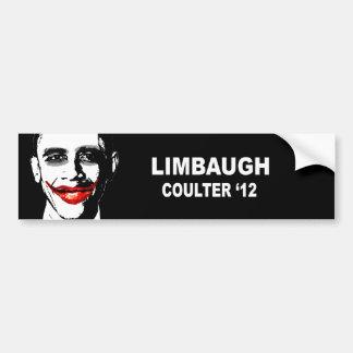 LIMBAUGH COULTER 12 BUMPER STICKER