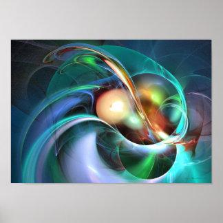 Limbo of oblivion - fractal art print