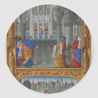 Limbourg brothers- The Holy Sacrament Stickers