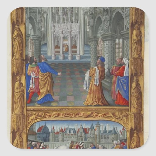 Limbourg brothers- The Holy Sacrament Sticker