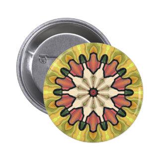 Lime 6 Cm Round Badge