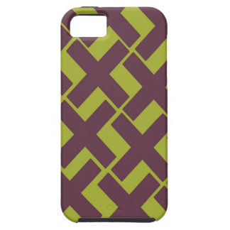 Lime and Purple Xs iPhone 5 Cover