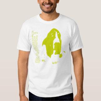 Lime Basset Tee Shirts