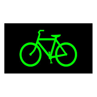 Lime Bike Pack Of Standard Business Cards