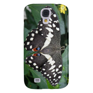 Lime Butterfly  Galaxy S4 Case
