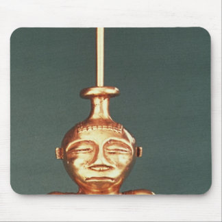 Lime Container of Cast Gold, Quimbaya Mouse Mat