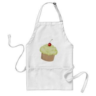Lime Cupcake Standard Apron