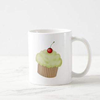 Lime Cupcake Basic White Mug