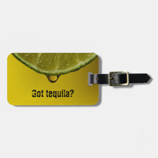 "Lime drop ""Got tequila""? luggage / bag tag. Luggage Tag"