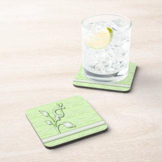 Lime Elegance 1 Drink Coaster