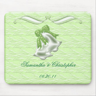 Lime Elegance #1 Mouse Pad
