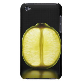 Lime,Fruit,Black background Barely There iPod Covers