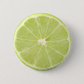 Lime Fruit Fresh Slice - Button