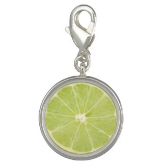 Lime Fruit Fresh Slice - Charm