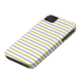 Lime & Fuchsia Stripes Blackberry case