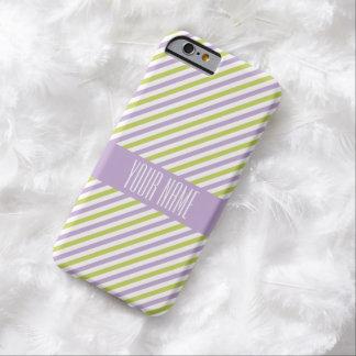 Lime & Fuchsia Stripes custom cases