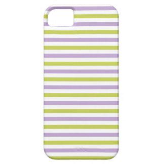 Lime & Fuchsia Stripes iPhone case