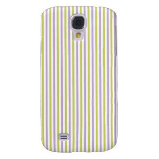 Lime & Fuchsia Stripes Samsung case
