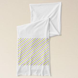Lime & Fuchsia Stripes scarf