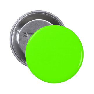 Lime Green 6 Cm Round Badge